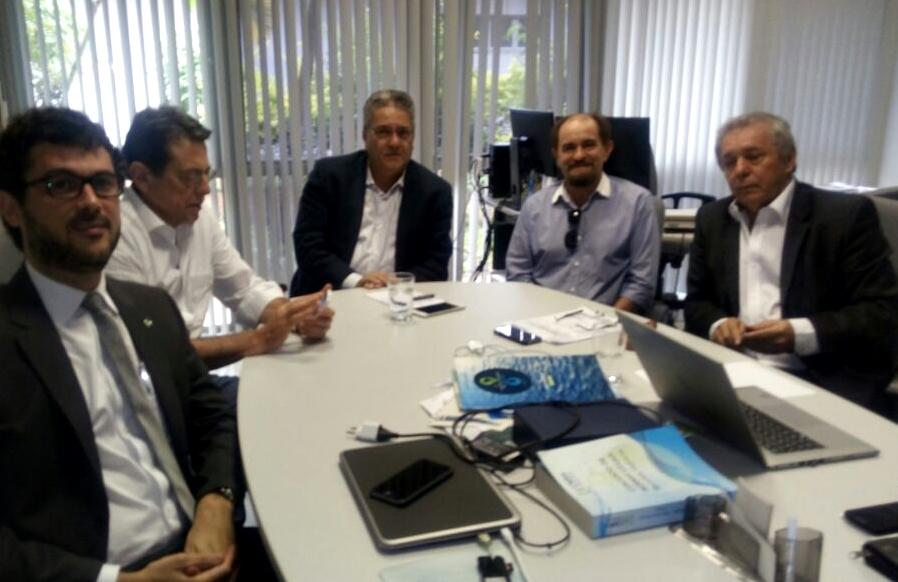 Aesa participa de reunião sobre situação do rio Piancó-Piranhas-Açu