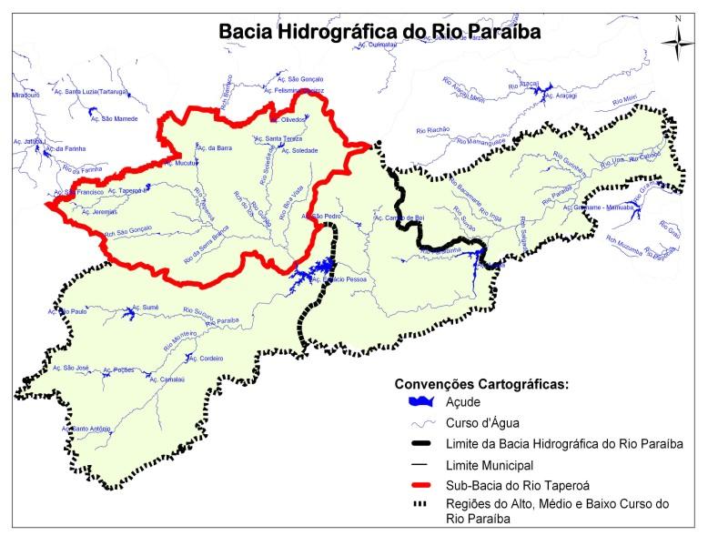 Prorrogadas as inscrições para eleição do Comitê da bacia hidrográfica do rio Paraíba