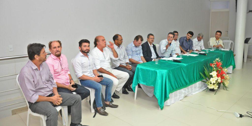 Aesa discute gestão das águas do São Francisco em reunião do Comitê Piancó-Piranhas-Açu no Sertão