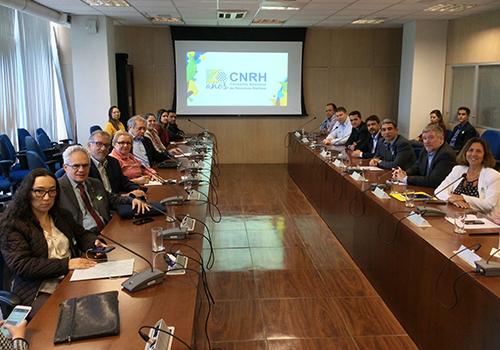 Paraíba toma posse no Conselho Nacional de Recursos Hídricos