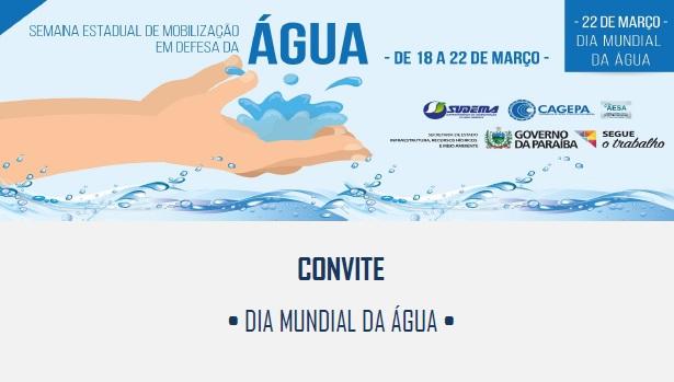 Abertas as inscrições para palestras da Semana da Água