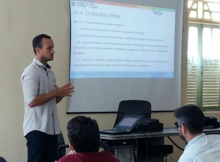 AESA e CBHs promovem curso de Noções de Segurança de Barragens