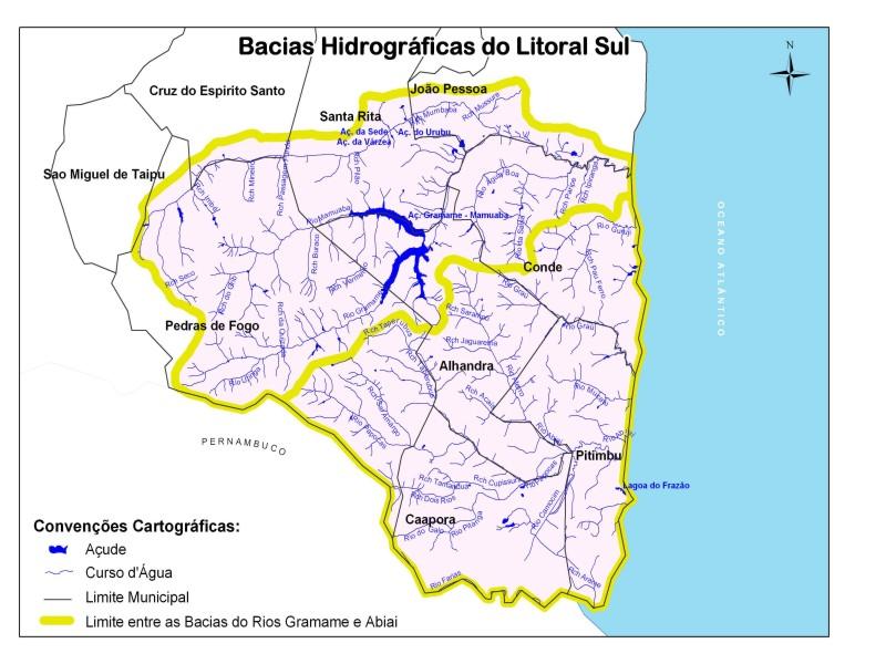 Comitê das bacias hidrográficas do Litoral Sul elege representantes nesta quinta