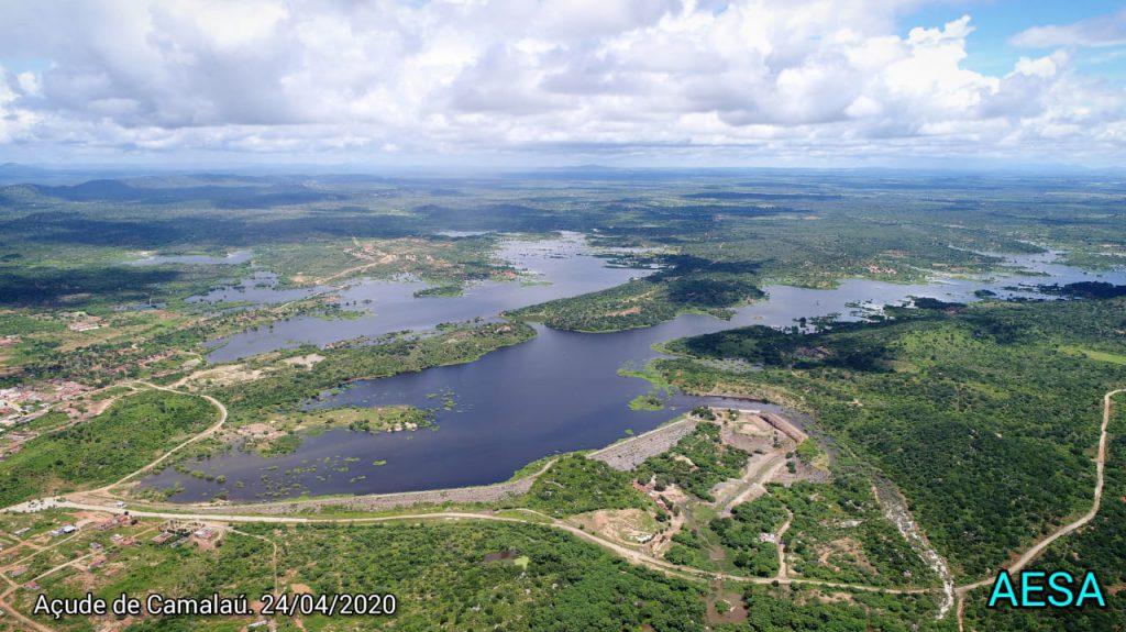 Vídeos: confira as imagens de drone dos açudes Camalaú e Poções