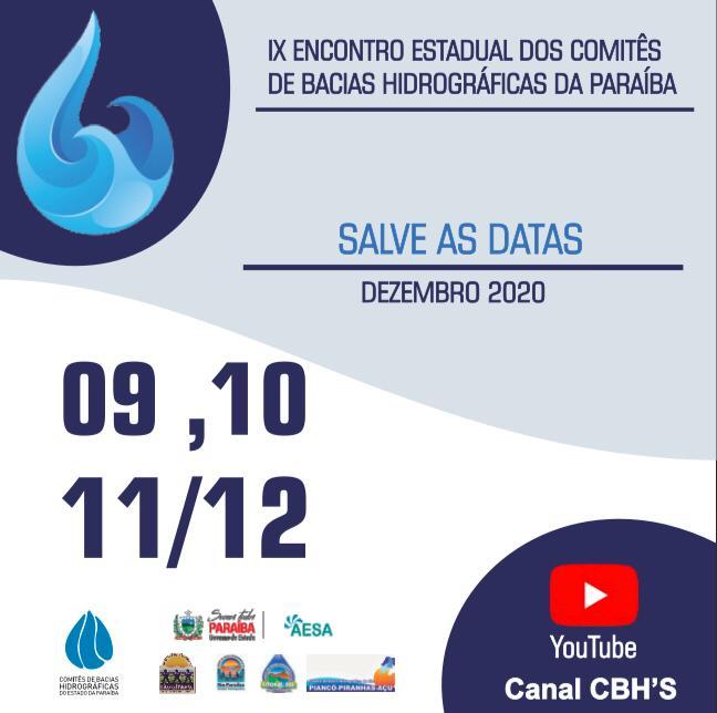 9º Encontro Estadual de Comitês de Bacias Hidrográficas