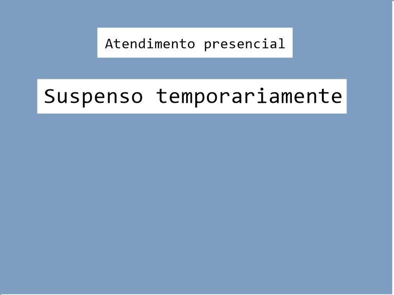 Prevenção contra a Covid-19: Aesa suspende temporariamente o atendimento presencial