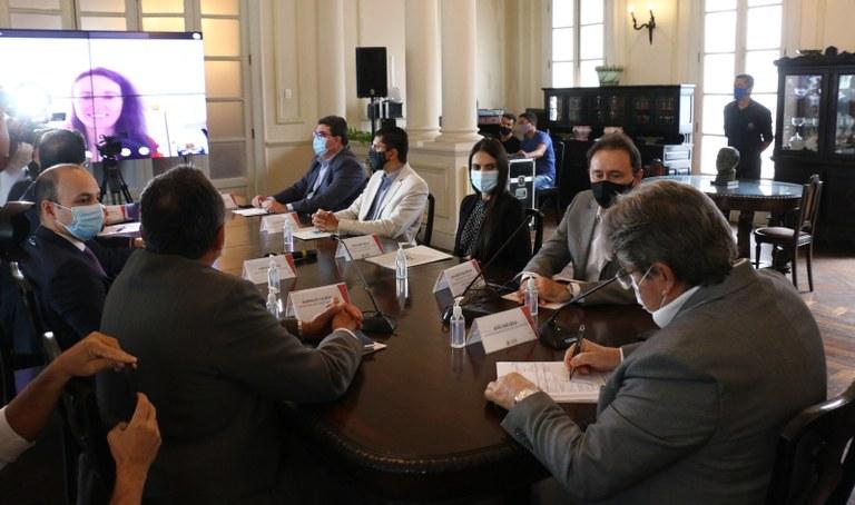 Governador assina contrato com Banco Mundial e assegura investimentos de US$ 207 milhões na infraestrutura hídrica