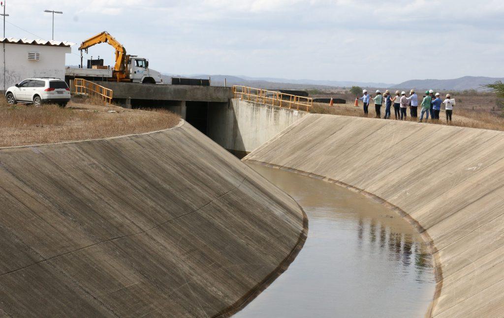 Chega água na maior obra de infraestrutura hídrica da Paraíba:  Canal Acauã-Araçagi